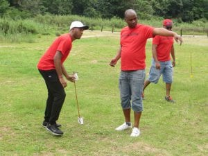 Men team building task
