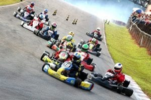 Corporate Entertainment Ideas - Go Karting Around a Track