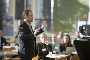 Corporate Entertainment Ideas - Man Leading a Lecture Indoors